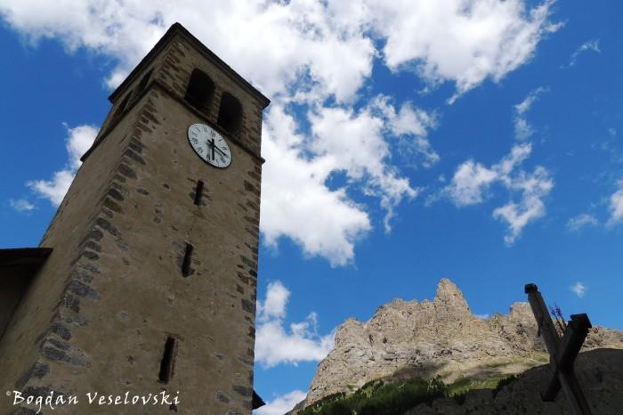 Église St Roch & Aiguillette du Lauzet, Le Lauzet, Monêtier-les-Bains