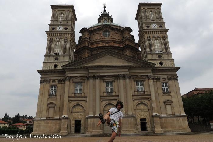 Santuario di Vicoforte - façade