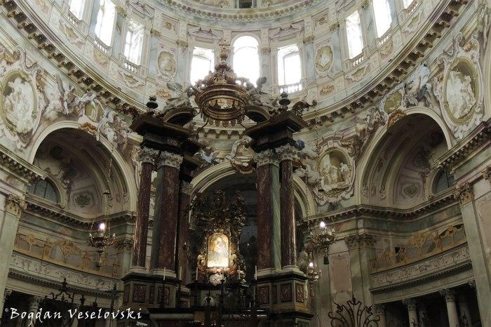 Santuary of Vicoforte - Central altar