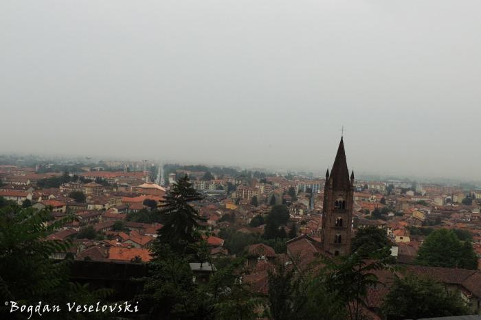 View fo Rivoli - Chiesa Collegiata Alta