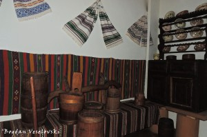 Interior of a traditional house