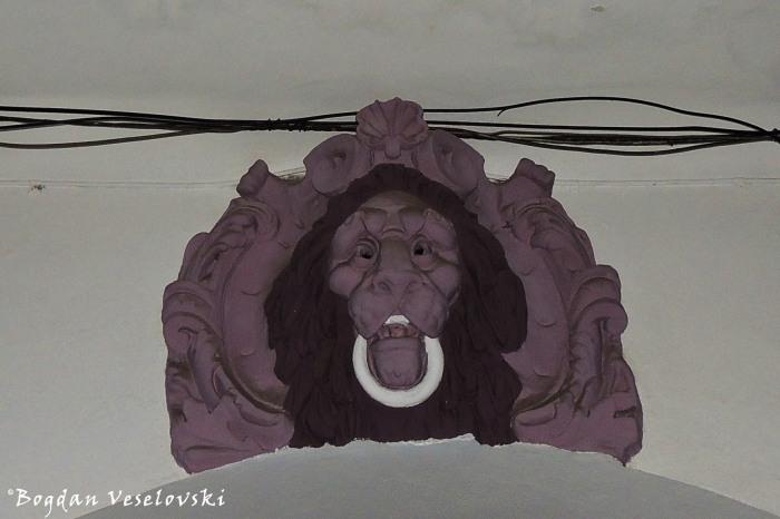 Piercing lion