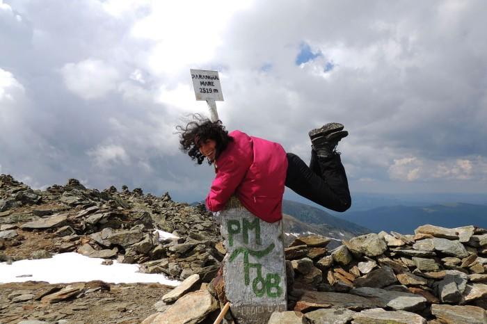 Parângul Mare Peak (2519 m)