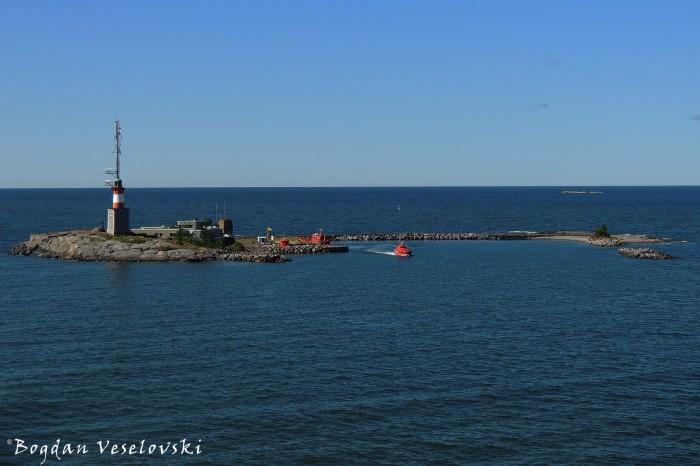 Harbour pilot station on Harmaja Island