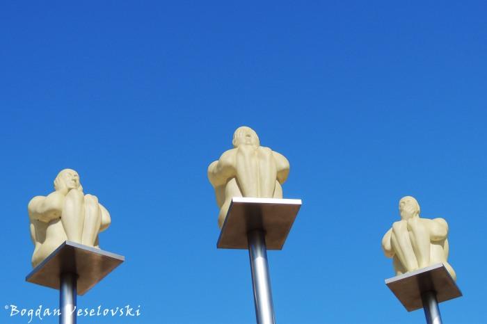 Three wise men, Gothenburg
