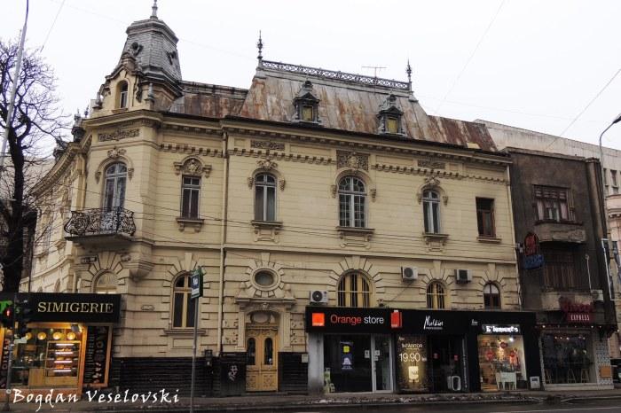 8, Piața Romană - Sabba Ștefănescu House, (art nouveau, arch. Oscar Maugsch)