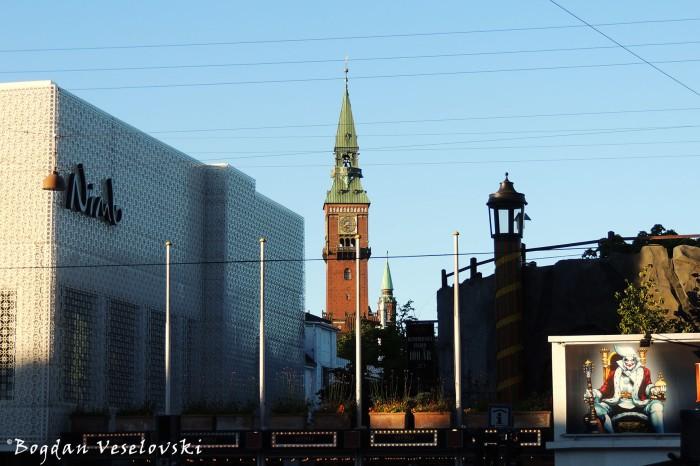 Bernstorffsgade - Nimb Hotel, Tivoli & Copenhagen City Hall's BellTower