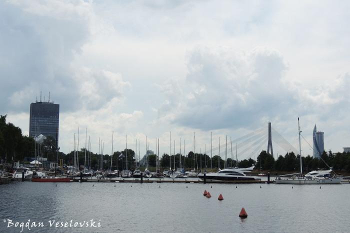 Yacht port, Riga