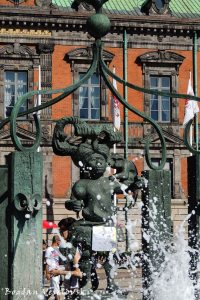 Fountain in Stortorget, Malmö