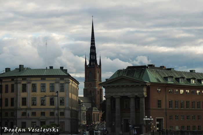 Brandkontoret, Riddarholmskyrkan & Kanslihuset (Stockholm City Fire Insurance Office, Riddarholm Church & Chancellery)