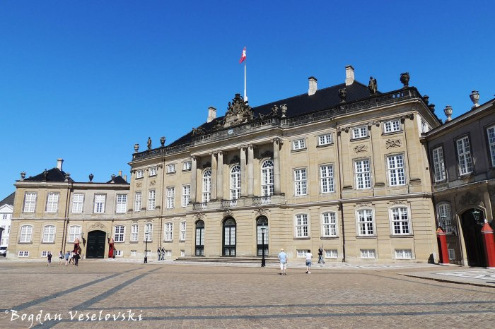 Christian VIII's Palace, Copenhagen (Levetzau's Palace)