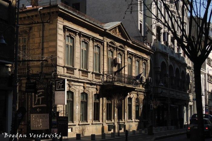 120, Calea Victoriei - Algiu-Toma Stelian House (19th century, arch. Paul Gottereau, eclectic style)
