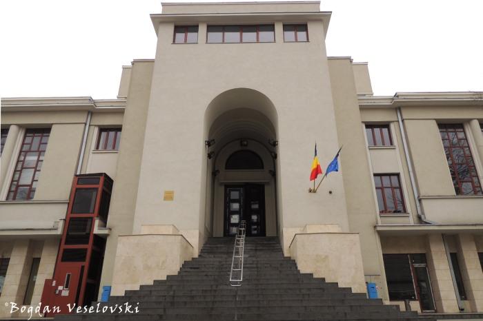 13, Piața Amzei - Direcția Generală de Impozite și Taxe Locale a Sectorului 1 (Directorate of local taxes and fines for the 1st district, Bucharest)