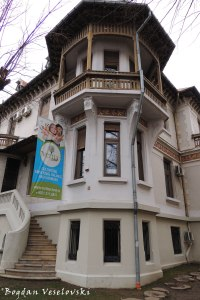79, Dacia Blvd. - Maria Ioanidi Villa (1911, arch. I.D.Berindey, eclectic style with romantic decorations)