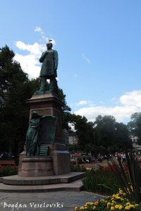 Statue of Johan Ludvig Runeberg, Esplanadi park, Helsinki