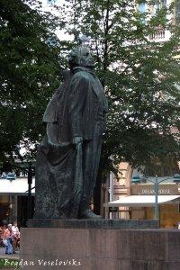 Eino Leino Statue, Esplanadi park, Helsinki