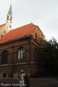 Svētā Jāņa Evaņģēliski luteriskā baznīca (St. John's Church, Riga)