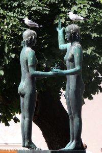 Monument to Zacharias Topelius, Helsinki