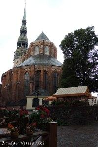Svētā Pētera Evaņģēliski luteriskā baznīca (St. Peter's Church, Riga)