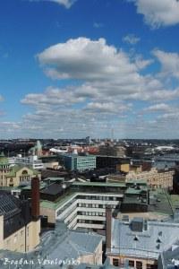 Helsinki seen from Forum Centre