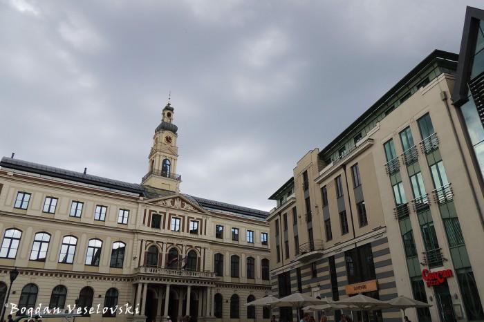 Rīgas Dome (Riga Town Hall - Riga City Council)