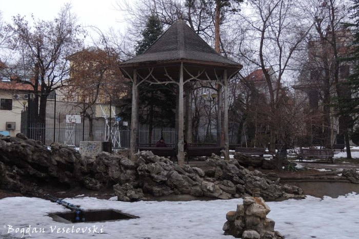 Gazebo in Ion Voicu Park