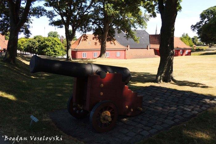 Cannon at Kastellet