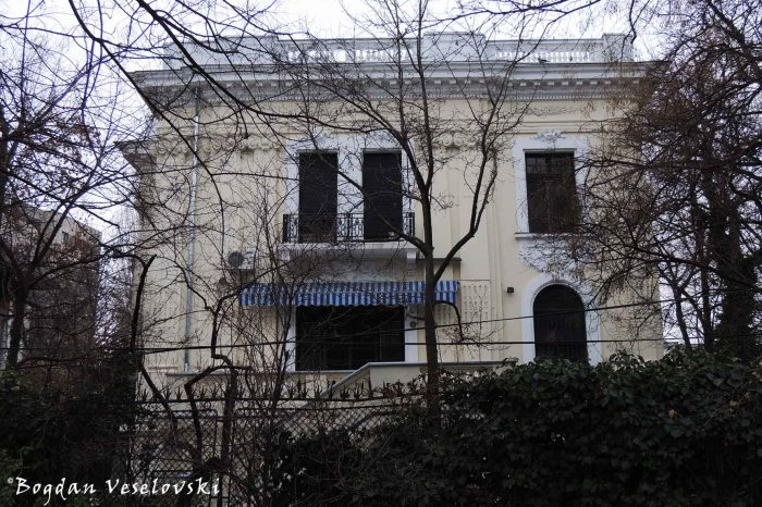 Iatan Poenaru Villa - view from Ion Voicu Park / Ioanid Garden