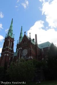 Johanneksenkirkko (St. John's Church, Helsinki, Gothic Revival style)