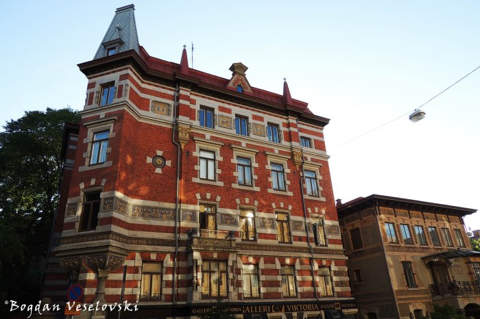 11, Viktoriagatan - Galleri Viktoria, Gothenburg