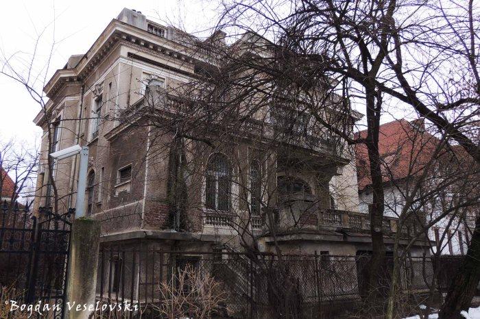 5, Dumbrava Roșie Str. - Irina & D. Emanoil - Procopiu Villa, view from Ion Voicu Park / Ioanid Garden (1911-1912, French eclectic style)