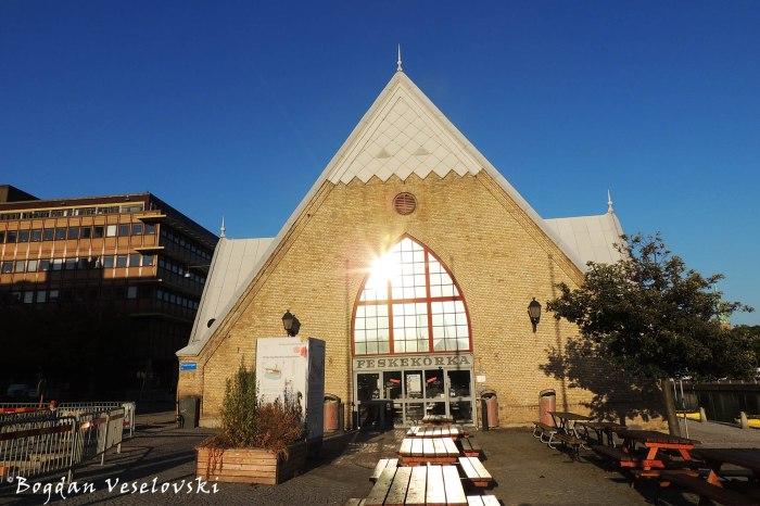 Feskekôrka (The Fish Church in Gothenburg)
