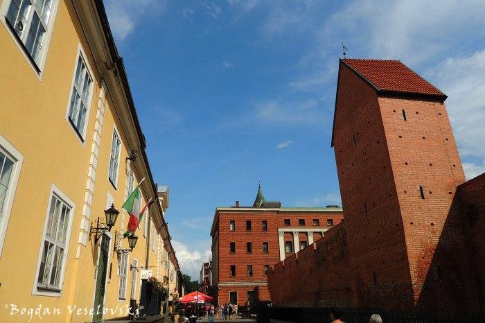 Torna iela - Jacob's Barracks, Ramer Tower & City walls, Riga
