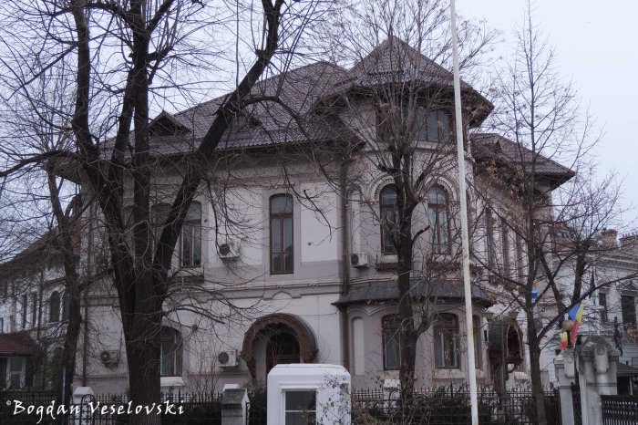 1, Dumbrava Roșie Str. - Embassy of Jordan