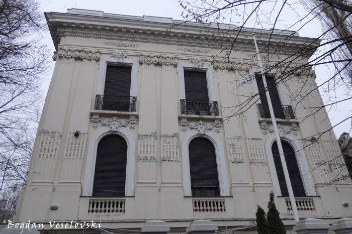 2, Polonă Str., Iatan Poenaru Villa (1913, eclectic style)