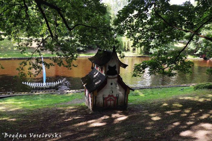 Swan house, Riga