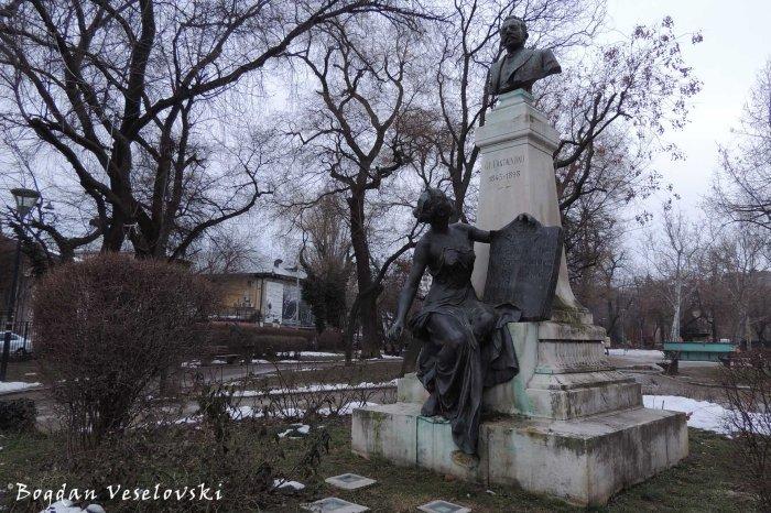 Monument to G. C. Cantacuzino in Grădina Icoanei Park (by Ernest Henri Dubois)
