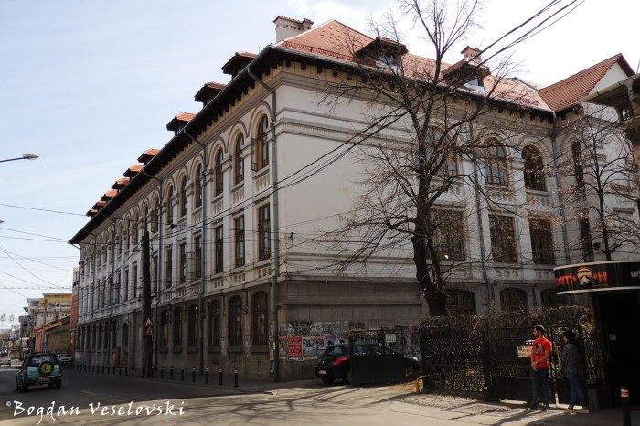 36, Egalității Str. - 'Zinca Golescu' National College, Pitesti