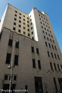37, Calea Victoriei - Palatul Telefoanelor (Telephone Palace, Bucharest, 1933, arch. Louis Weeks, Walter Froy & Edmond van Saanen Algi, Art-Deco style)
