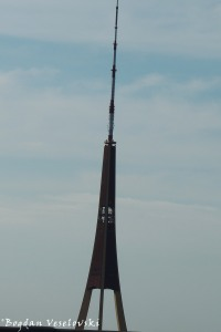 The radio and TV tower, Riga