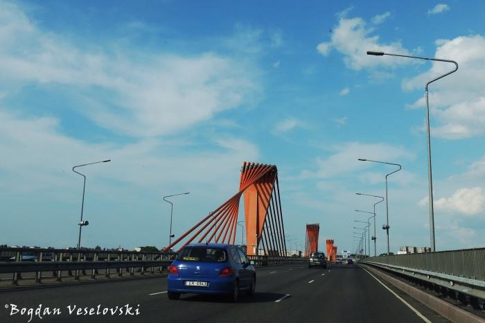 Riga's Southern bridge