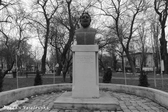 Monument to Adrian Pănuescu (poet) in Gradina Icoanei Park