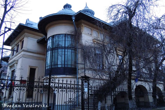 37, Dionisie Lupu Str. - Prof. Dr. N.N.Turnescu House, today The University of Medicine Rectorate (19th cent., arch. Albert Galeron)