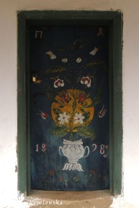 Door of a house in Jurilovca, Tulcea County