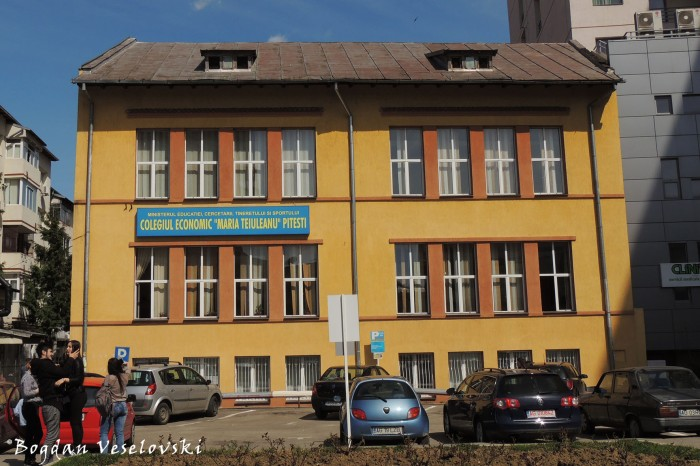 'Maria Teiuleanu' Economical College, Pitesti