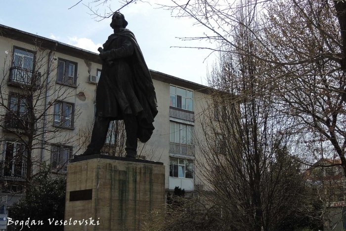 Monument to Nicolae Balcescu in the City Hall Park, Pitesti