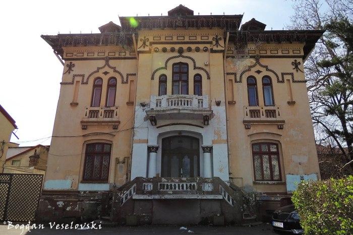 Nae Dumitrescu House (1927, arch. Dumitru Ionescu-Berechet, Neo-Romanian style)