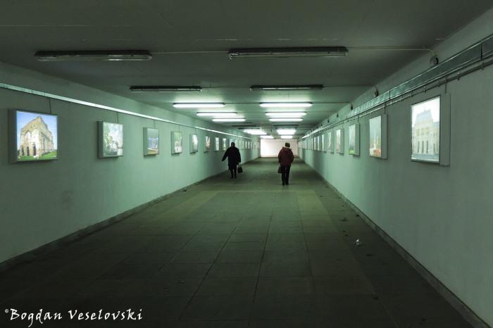Underground pedestrian passageway from Piața Presei