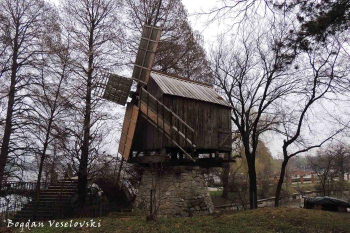 Windmill from Valea Nucarilor, Tulcea County (19th century)
