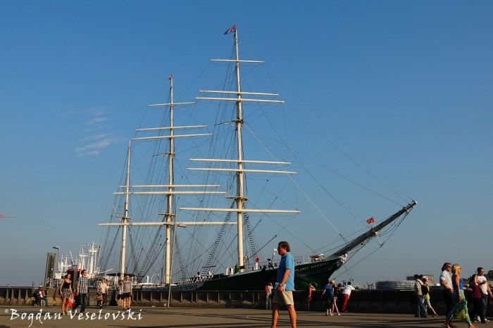 Rickmer Rickmers sailing ship, Hamburg